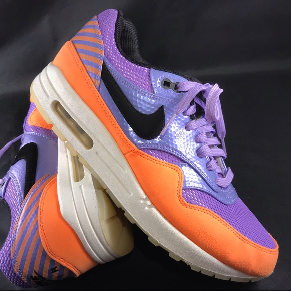 27dadfe9f1 Nike Shoes | Mint Condition Air Max Purple Orange Size 85 | Poshmark